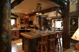 country kitchen designs with islands appealing rustic wood remodel