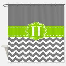 Grey Green Shower Curtain Grey And Lime Green Shower Curtains Cafepress