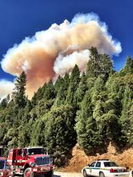 Wildfire Colfax California by Lowell Fire Containment Grows Shifting Winds Trigger Health