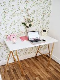 Ikea Diy Desk Hack Hometalk