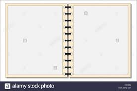 notepad template for word an open notepad template or background isolated on a white