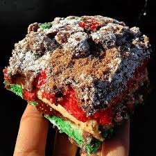 queens comfort rainbow cookie crumb cake cost facebook