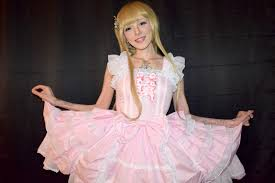 human barbie doll this woman says becoming a human barbie saved her life