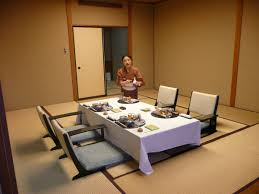 traditional japanese dinner table traditional japanese dining room design featuring grey floor
