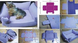 Diy Dog Bed Dog Beds Diy Simple Doggy Bed No Instruction Only How To Pics
