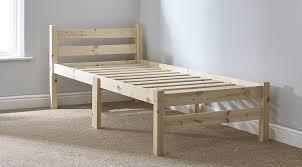 samson 3ft single solid pine bed frame