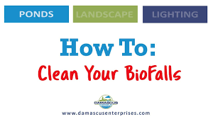 Aquascape Biofalls How To Clean Your Biofalls Youtube