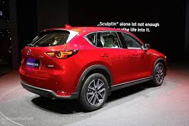 mazda motor europe 2017 mazda cx 5 brags with soul red crystal paintwork in geneva