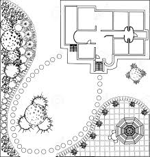 Trellis Plan by 121 Trellis Garden Stock Vector Illustration And Royalty Free