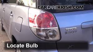 2010 toyota corolla brake light bulb tail light change 2003 2008 toyota matrix 2008 toyota matrix xr