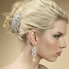 wholesale art deco crystal barrette mariell bridal jewelry