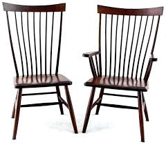 shaker dining room chairs shaker dining room chairs solid cherry prairie boat shape table