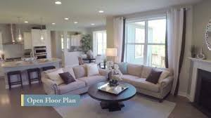 Open Floor Plan Homes With Pictures by New Homes By Pulte Homes U2013 Bridgeview Floorplan Youtube