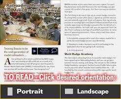 model railroading merit badge model railroad hobbyist magazine
