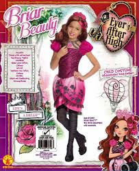 ever after high halloween costume amazon com rubies ever after high child briar beauty costume