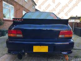 subaru gc8 subaru impreza ducktail spoiler gramsstyling co uk