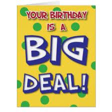 big birthday cards large greeting cards zazzle