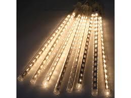 11 8 inch 8 144 leds meteor shower lights waterproof