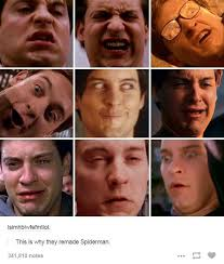 Spiderman Face Meme - most of these faces are expand worthy spider man know your meme