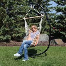 Tree Hanging Hammock Chair Sunnydaze Hanging Hammock Chair Swing And C Stand Set