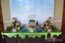 minecraft party minecraft party all for the boys