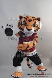 Tigress Halloween Costume Kung Fu Panda Tigress Mascot Costume Size Cosplaysky