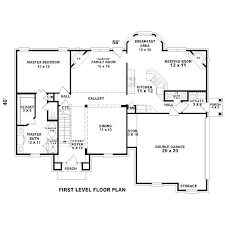 House Plans Bedroom Modern House Plans Modern  Bedroom House - 5 bedroom house floor plans