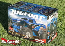 rc monster trucks videos unboxing u2013 traxxas bigfoot monster truck big squid rc u2013 news