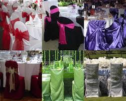 housses de chaises mariage décoration de chaise de mariage
