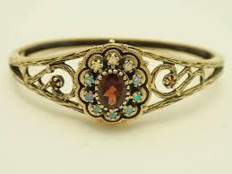 antique garnet bracelet images 10k english opal garnet bracelet 1 185 00 cydneys antiques jpg
