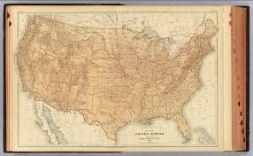 Topographical Map Of United States by 1 United States Topographical Features David Rumsey Historical