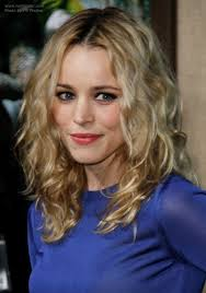 rachel thinning hair rachel mcadams wearing a long hairstyle with curl and a beachy vibe