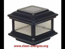 Led Solar Deck Lights - best 25 solar post lights ideas on pinterest hanging basket