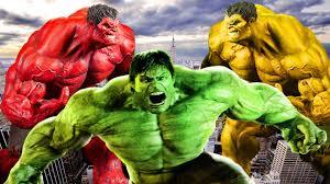 finger family yellow hulk vs hulk cartoons for children red hulk