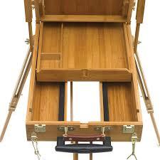 bamboo french sketchbox easel blick art materials