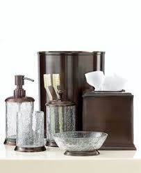 Crackle Glass Bathroom Accessories by Crackle Glass Bathroom Accessories New Gold Crackle Glass Bathroom