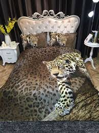 popular leopard print bedding sets buy cheap leopard print bedding