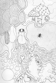 trippy coloring pages trippy shroom coloring pages coloring