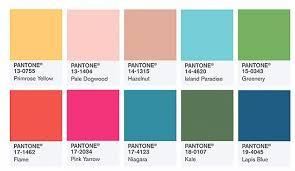 pantone colors pantone color institute picks top 10 colors for spring 2016