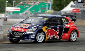 peugeot canada timmy hansen takes his peugeot 208 wrx to 1st place in canada