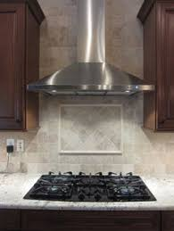 Rock Backsplash Kitchen by Okay So I Have Black Uba Tuba Granite Counters But I Like This