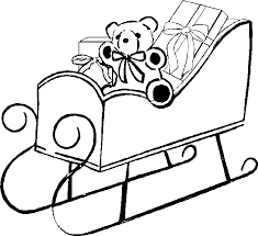 sleigh coloring pages santa sleigh printables learn coloring