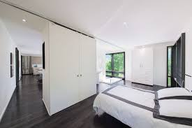 Black Trim Windows Decor Charcoal Bedroom Ideas Bedroom Modern With White Bedding Floor To