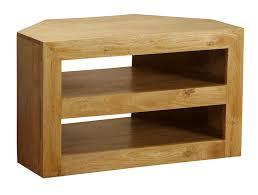 homescapes dakota oak finish tv dvd corner unit for living room