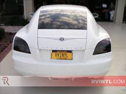 rtint chrysler crossfire 2004 2008 tail light tint film