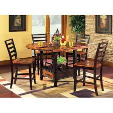 Drop Leaf Pub Table Abaco Drop Leaf Pub Table With Four Counter Chairs Dcg Stores