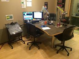 Producer Studio Desk by Theec New Production Studio Rhode Island Public Radio