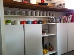 comptoir de cuisine sur mesure enfilade sur mesure avec deux caissons ikea enfilade sous le