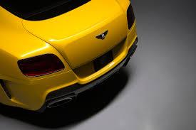 bentley sports car rear bentley continental gt v8 facelift aero rear bumper u0026 diffuser