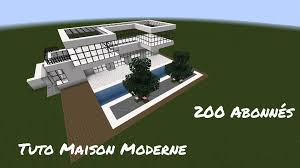 Plan Minecraft Maison by Tutoriel Fr Minecraft Maison Moderne 1 7 2 U0026 1 8 1